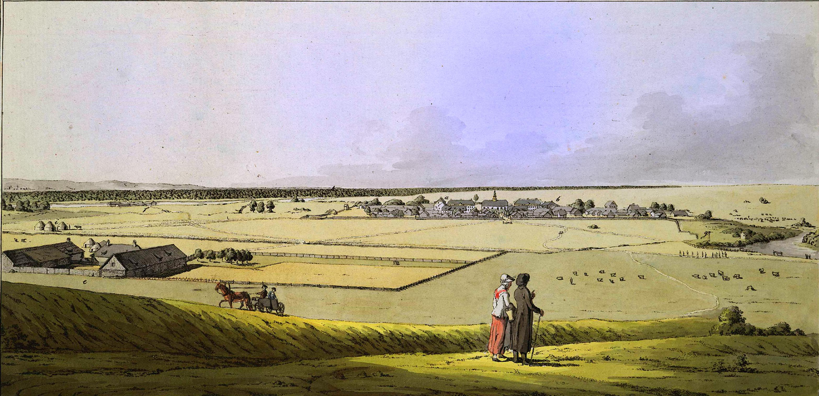 3. Ферма немцев Поволжья (Wolgadeutsche) близ озера Сарпа.